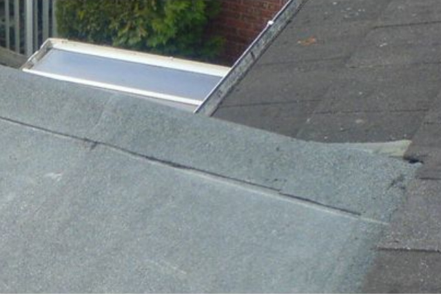 Flat Roof and Slate Roof