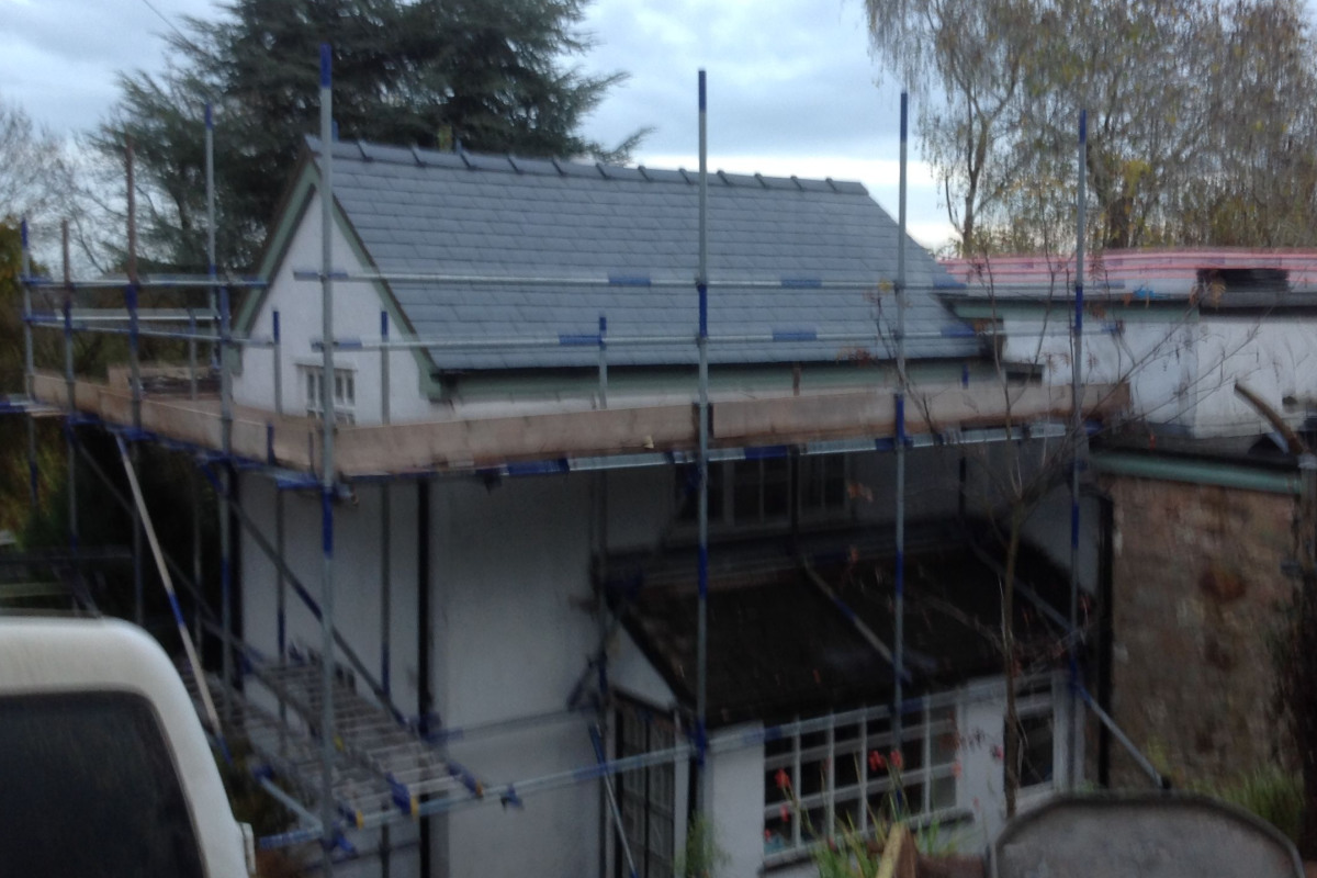 Pitched Roof Renovation