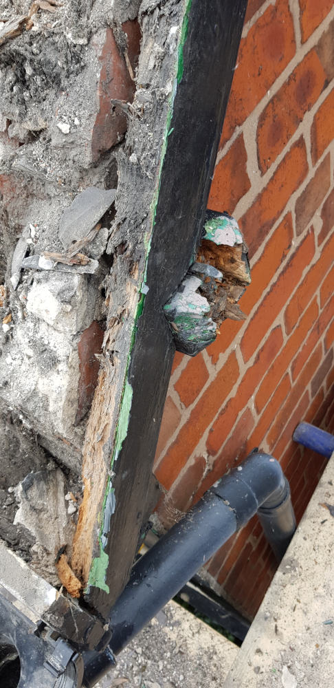 Rotten Timber Replacement, Oswestry and Wrexham Roofing