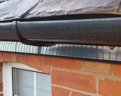 Protected fascia - roof line