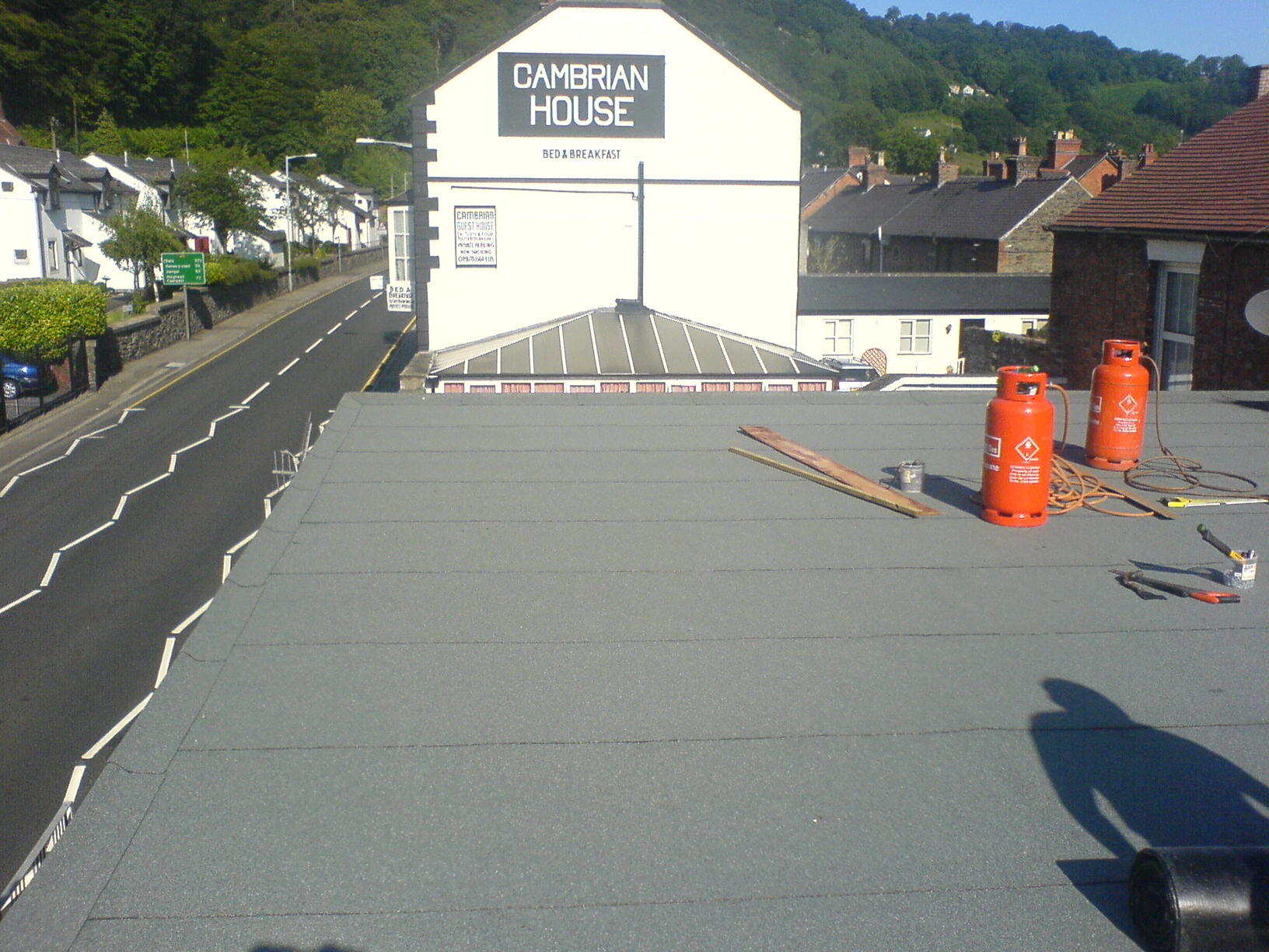 Llangollen flat roof repair